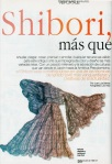 "3ISS 99 Journal Review ""Shibori!"", Revista de El Mercurio, no 838 (Spanish)"