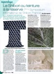 "7ISS 08 Symposium Review ""7ieme Shibori"" reportage by Gül Laporte, Magic Patch, no.78"