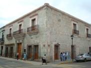 Outside of the Museo de Textil Oaxaca