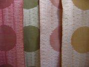 Photo copyright Catharine Ellis. Jacquard woven, pima cotton Various natural dyes