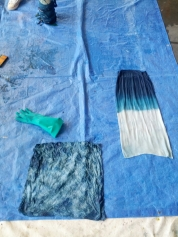 Some beautiful dip dyeing