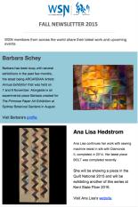 2015 Fall Newsletter