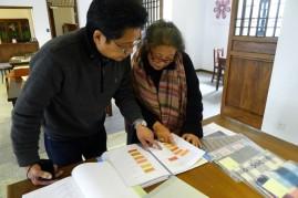 Yoshiko Wada with Dr. Yamazaki