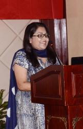 Victoria Anandan Myrtal, at 9ISS. PC: Eileen Ekinaka