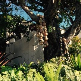 Marcia Donahue's Magical Sculpture Garden entrance to her outdoor gallery
