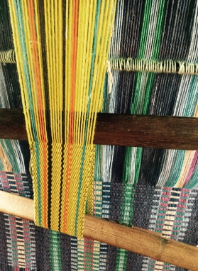 Backstrap weaving - Boruca, Costa Rica