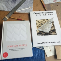 Reference books - Complete Pleats, Creativity is Born