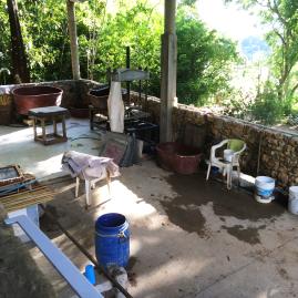The studio wet area